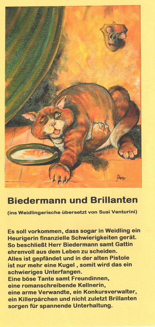 Theatergruppe Weidling Biedermann und Brillanten