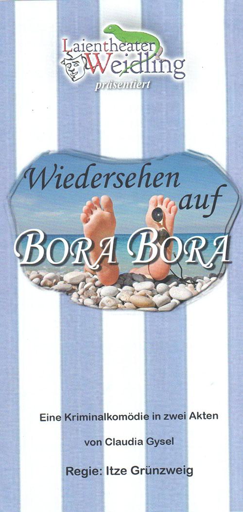 Theatergruppe Weidling_2018_Wiedersehen auf Bora Bora