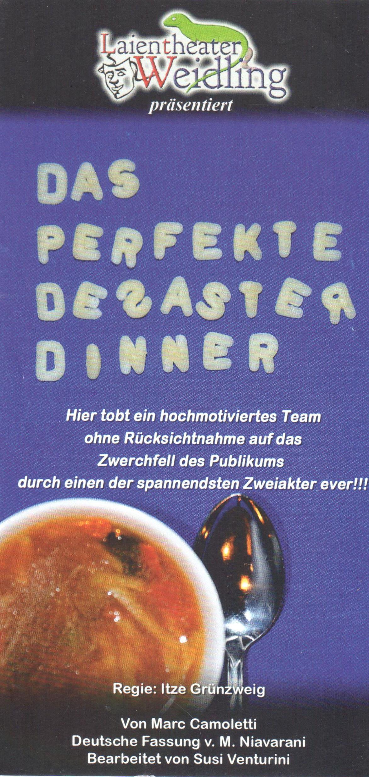 Theatergruppe Weidling_Desaster Dinner